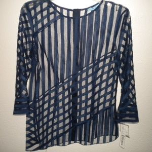 Antonio Melani Women Size Small BLouse NEW